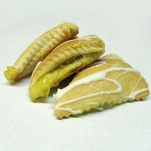 Sausainiai su abrikosų įdaru
