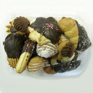 Įvairių sausainių rinkinys